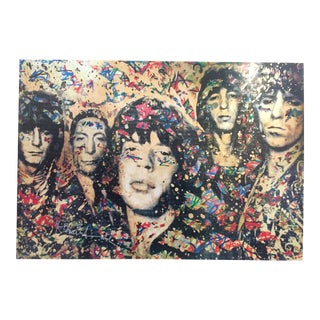 """Mr. Brainwash """"The Rolling Stones"""" Lithograph Print Poster"""