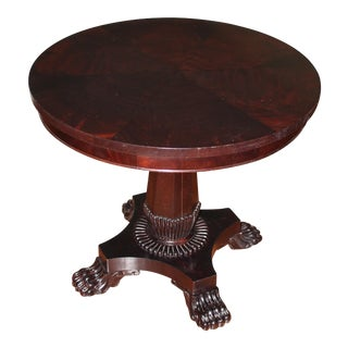 Henredon Umber Round Center Table