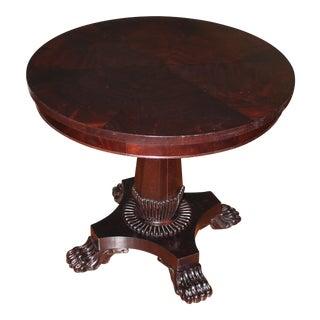 Henredon Umber Round Center Table