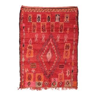 Moroccan Vintage Boujad Rug - 6′10″ × 9′2″
