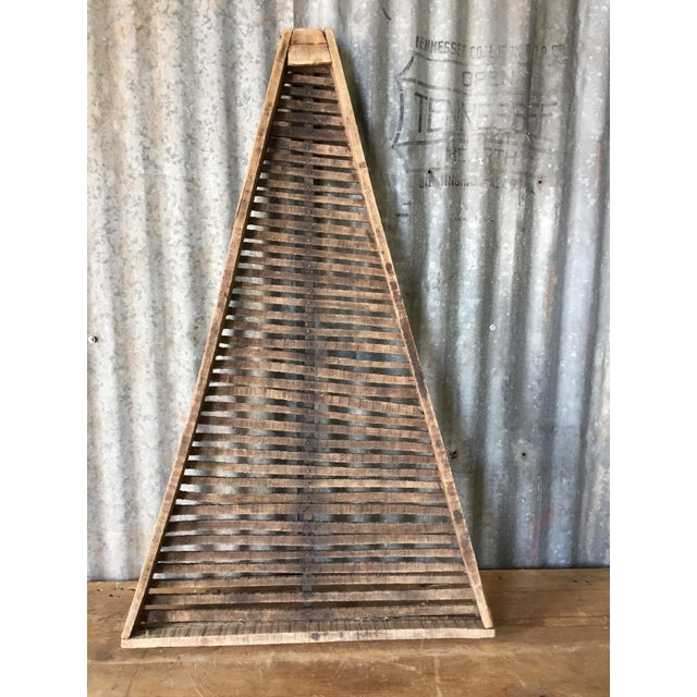 Image of Antique Wood Flower Drying Rack