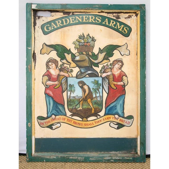 """English Pub Sign """"Gardeners Arms"""" - Image 3 of 7"""