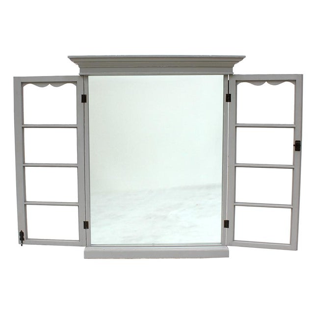 Image of Sarreid Ltd. Adriana French Window Mirror