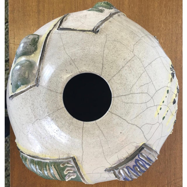 Abstract Studio Pottery Vase - Image 5 of 11