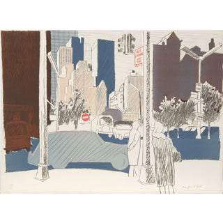 Fairfield Porter - Untitled (NYC) Lithograph