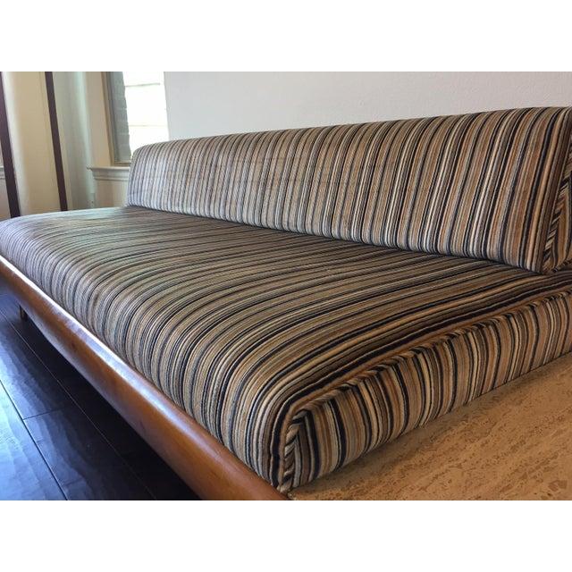 Image of Vintage Danish Modern Marble Sofa