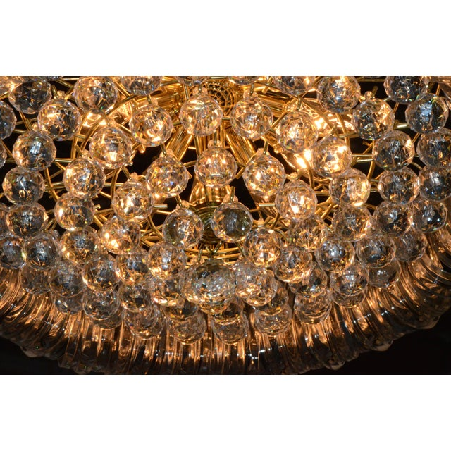 Triarch Lucite Chandelier - Image 3 of 6