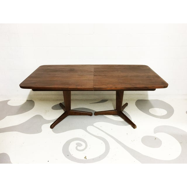 Mid-Century Modern Dining Table by Brown Saltman - Image 3 of 7