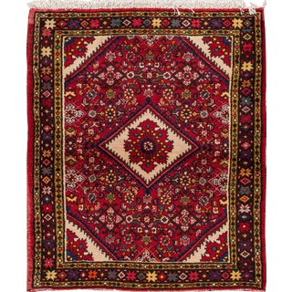 "Apadana - Vintage North West Persian Rug, 3'10"" x 4'10"""