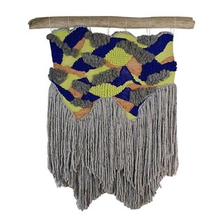 Mountain Woven Wall Hanging by Willow Brooke