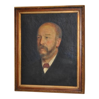 19th C. Male Oil Portrait