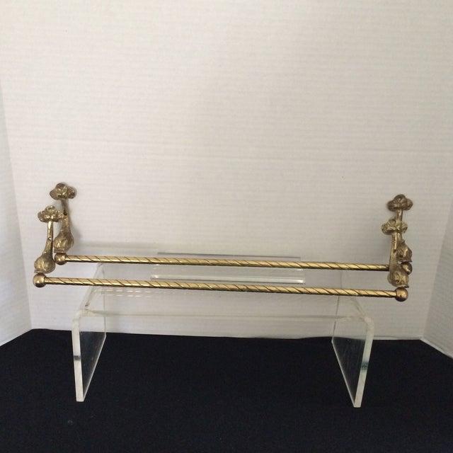 Image of Hollywood Regency Towel Bars - Pair