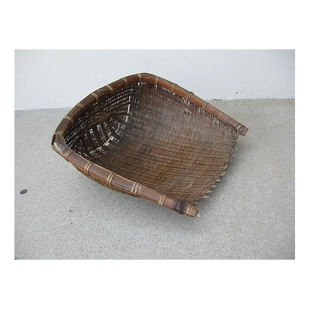 Primitive Rice Scoop Basket - Image 2 of 9