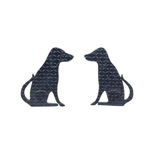 Labrador Andirons - Image 1 of 4