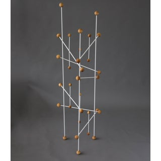 French Modern Three-Sided Coat Rack or Display