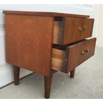 Image of Mid-Century Walnut Nightstand