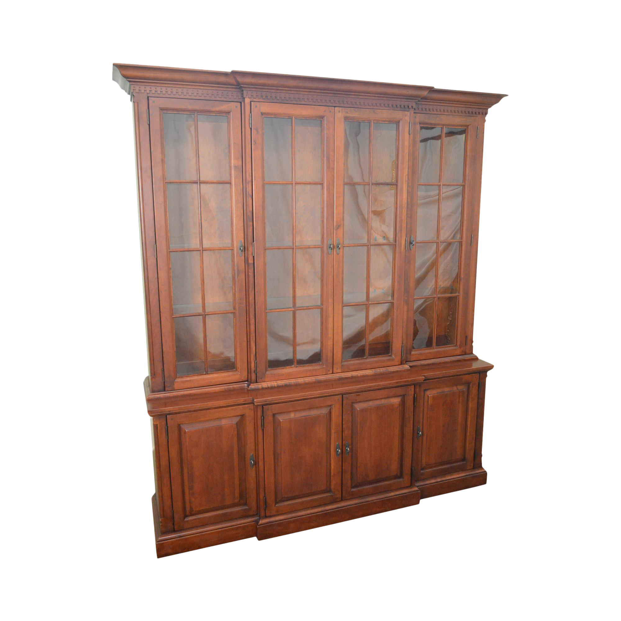 Lexington Bob Timberlake Solid Cherry China Cabinet Breakfront Or Bookcase
