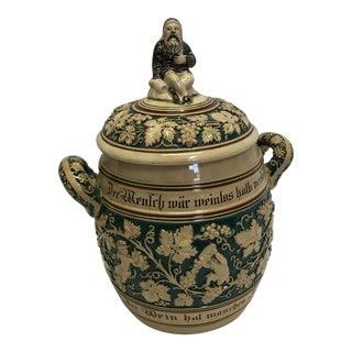 German Stoneware Soup Tureen