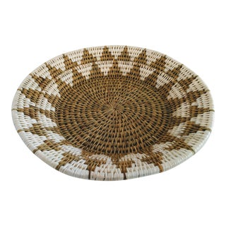 Boho Chic African Handwoven Catch All Basket
