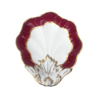 Carlin Comfort Continental Red & White Dish
