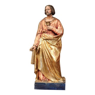 Early 19th Century French Carved Statue of Christ