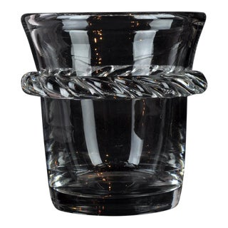 Daum Crystal Ice Bucket