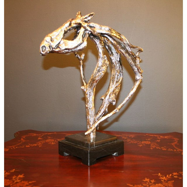 Silver Horse Head Casting - Image 2 of 7