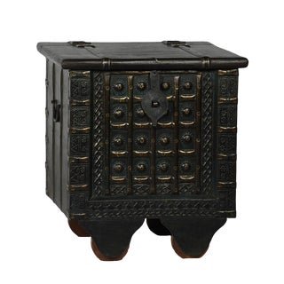 Jodhpur Black Side Cabinet