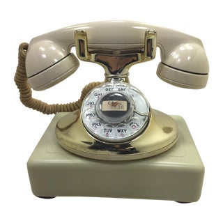 Gold Plated and Ivory Western Electric Phone