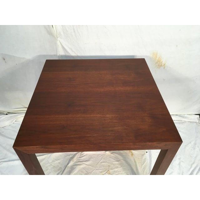Image of Edward Wormley Walnut Side Table