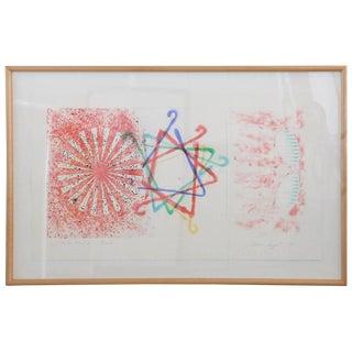James Rosenquist, Number Wheel Dinner Triangle, 1978