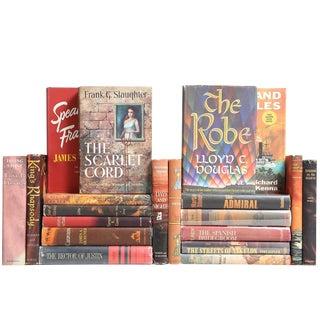 Midcentury Novels: Orange, Brown & Black, S/20