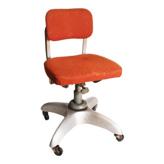 Vintage Industrial Swivel Office Chair by Goodform