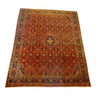 Vintage Persian Sarouk Rug- size 9x10 ft
