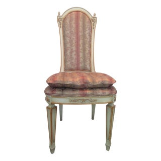 Upholstered Desk or Vanity Accent Chair