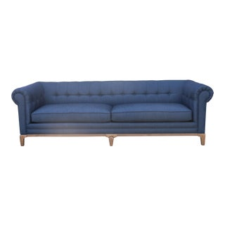 Blue Tufted Sofas