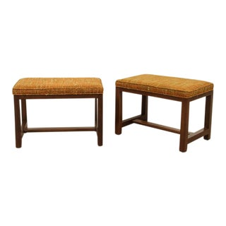 Pair of Ottomans by Edward Wormley for Dunbar
