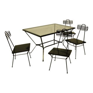 Mid 20th Century Garden Table and Chairs