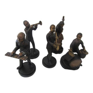 Metal Crafted Musicians - Set of 5