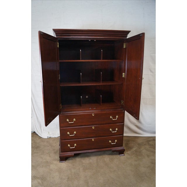 Councill Craftsman Chippendale Armoire - Image 5 of 10