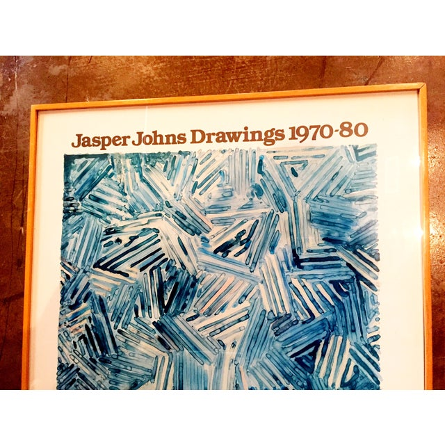 Image of Jasper Johns Drawings 1970-80 Gallery Poster