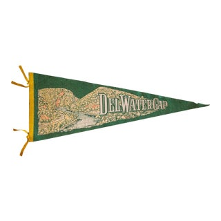 Delaware Water Gap Extra Large Felt Flag