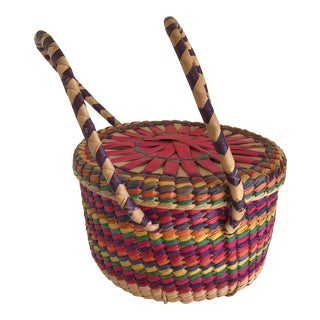 Boho Festive Basket