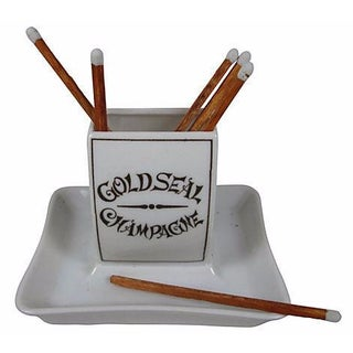Gold Seal Champagne Match Stand