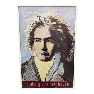 Vintage Ludwig Van Beethoven Poster