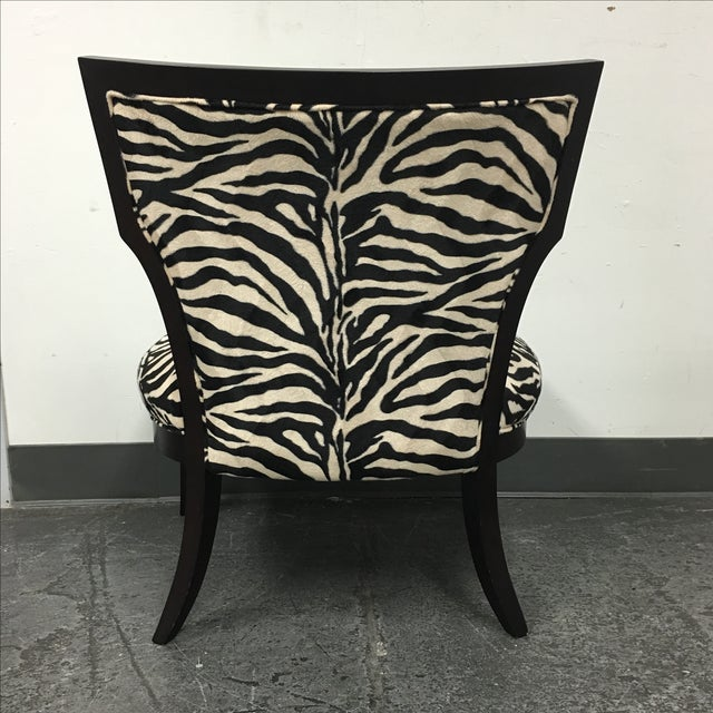Zebra Print Miley Chair - Image 6 of 10
