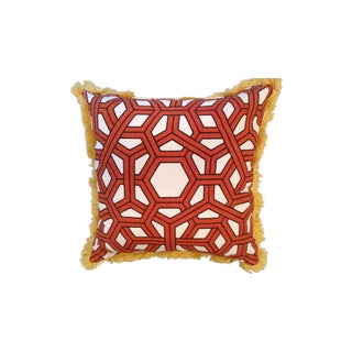 Thomas Paul Hexagon Linen Throw Pillow