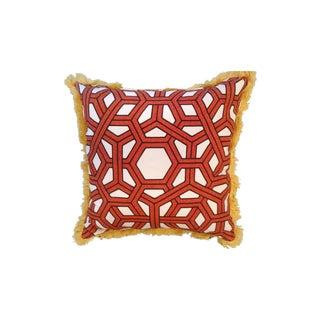 Thomas Paul Hexagon Linen Throw Pillow