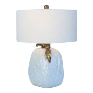 Ceramic and Brass Table Lamps by Chapman - A Pair