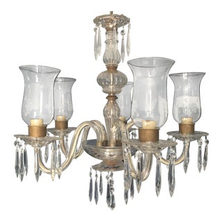 Colonial Style Crystal 5 Light Chandelier